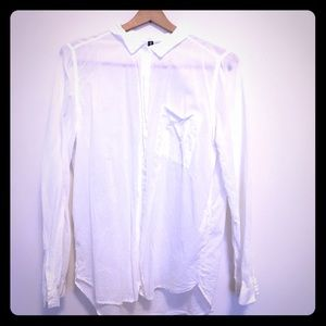 Whit H&M Divided button up Blouse W 10